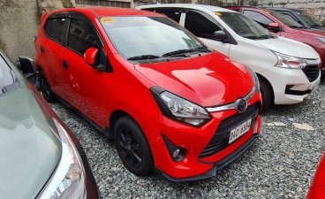 Red Toyota Wigo 2020 for sale in Quezon