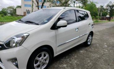 Selling White Toyota Wigo 2017 in Quezon