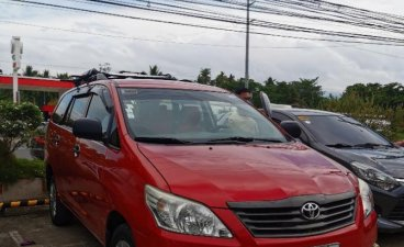 Red Toyota Innova 2014 for sale