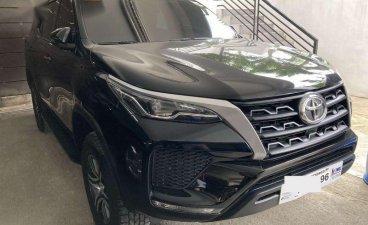 Black Toyota Fortuner 2021 for sale in Marikina