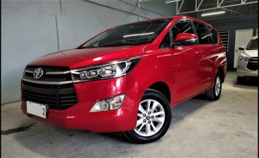 Red Toyota Innova 2018 for sale in Paranaque