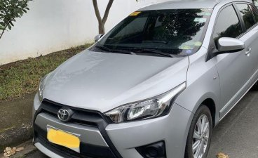 Silver Toyota Yaris 2015 for sale in Angeles