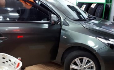 Green Toyota Vios 2017 for sale in Quezon