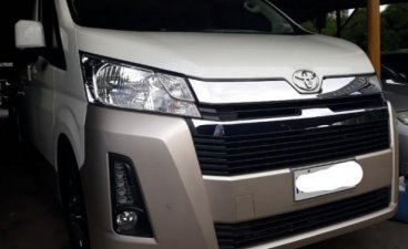 Selling White Toyota Hiace 2021 in Pasig