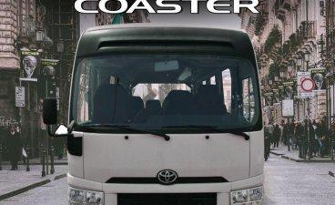 Selling White Toyota Coaster 2021 in Quezon