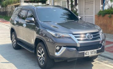 Sell Grey 2017 Toyota Fortuner in Quezon City