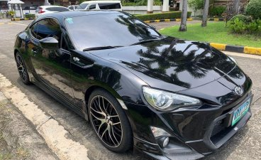 Black Toyota 86 2013 for sale in Quezon