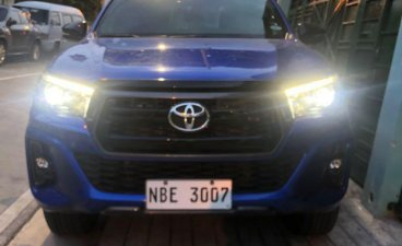 Blue Toyota Hilux 2019 for sale in Pasay