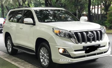 Pearl White Toyota Land Cruiser 2014 for sale in Imus