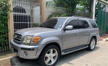 Brightsilver Toyota Sequoia 2003 for sale in Manila