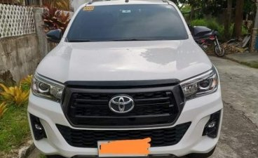 White Toyota Hilux 2019 for sale in Bacolod