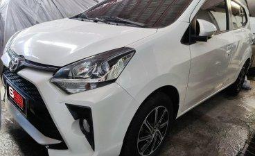 White Toyota Wigo 2020 for sale in Quezon