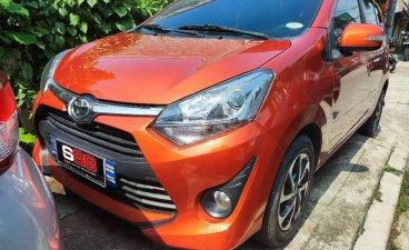 Orange Toyota Wigo 2020 for sale in Quezon
