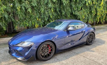 Blue Toyota Supra 2021 for sale in Pasig