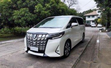 White Toyota Alphard 2020 for sale in Muntinlupa
