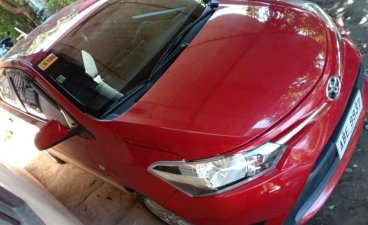 Red Toyota Vios 2016 for sale in Automatic