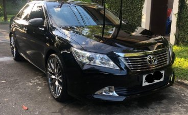 Black Toyota Camry 2014 for sale in Malabon