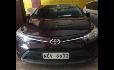 Red Toyota Vios 2018 Sedan at  Manual for sale in Caloocan