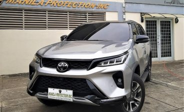 Silver Toyota Fortuner 2021 for sale in Manila