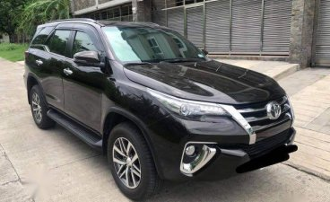 Selling Black Toyota Fortuner 2018 in Taguig