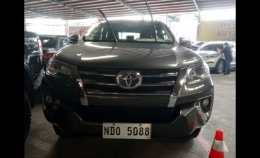 Grey Toyota Fortuner 2019 SUV for sale in Quezon City