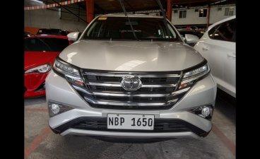 Silver Toyota Rush 2018 MPV at 18000 for sale