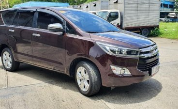 Selling Red Toyota Innova 2019 in Quezon