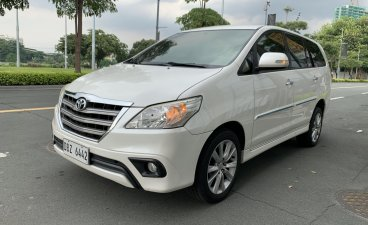 Selling Pearl White Toyota Innova 2016 in Pasig