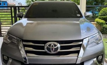 Pearl White Toyota Fortuner 2017 for sale in Malabon