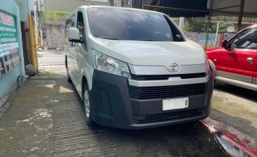 White Toyota Hiace 2020 for sale in Manual