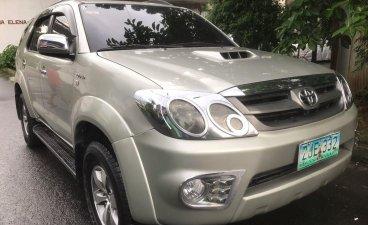 Brightsilver Toyota Fortuner 2007 for sale in Quezon