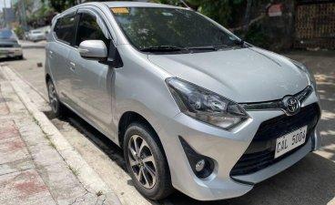 Selling Brightsilver Toyota Wigo 2018 in Quezon