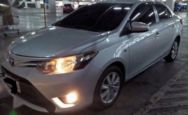 Silver Toyota Vios 2016 for sale in Automatic