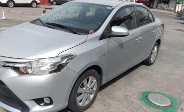 Selling Brightsilver Toyota Vios 2017 in Muntinlupa