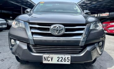 Grey Toyota Fortuner 2017 for sale in Automatic