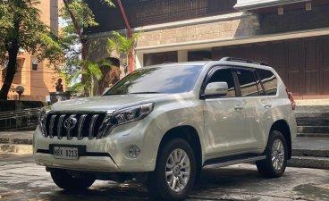 Selling Pearl White Toyota Prado 2017 in Malabon