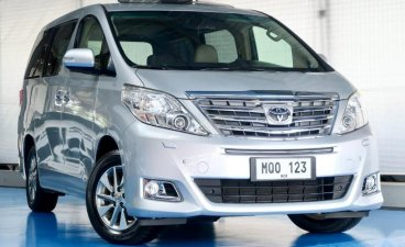Selling Pearl White Toyota Alphard 2014 in Quezon City