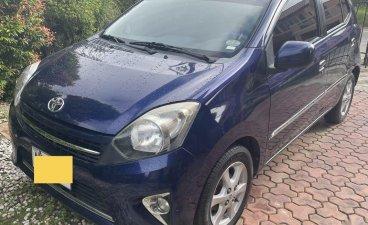 Blue Toyota Wigo 2015 for sale in Tarlac