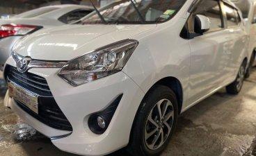 Selling White Toyota Wigo 2020 in Quezon