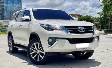 Selling Pearl White Toyota Fortuner 2016 in Makati
