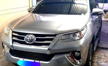 Brightsilver Toyota Fortuner 2017 for sale in Binan