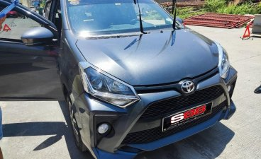 Silver Toyota Wigo 2020 for sale in Quezon