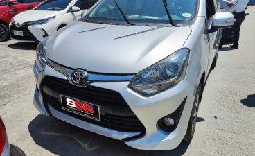 Pearl White Toyota Wigo 2020 for sale in Quezon