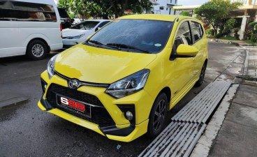 Yellow Toyota Wigo 2020 for sale in Quezon
