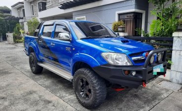 Selling Blue Toyota Hilux 2007 in Quezon