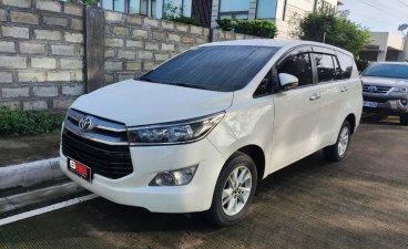 Pearl White Toyota Innova 2019 for sale in Quezon