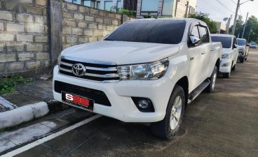 White Toyota Hilux 2020 for sale in Quezon
