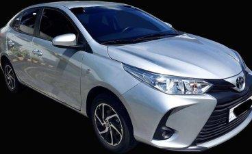 Silver Toyota Vios 2021 for sale in Manila