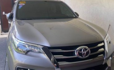 Selling Silver Toyota Fortuner 2017 in Quezon