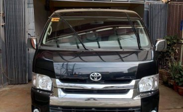 Black Toyota Hiace 2016 for sale in Manual
